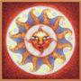 Saulės mandala / Mandala