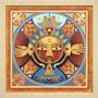Žydinti lelija / Mandala