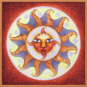 Saulės mandala
